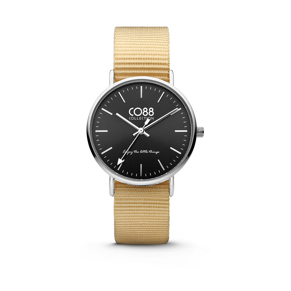 CO88 Collection - 8CW-10038 - Horloge - nato nylon - zandbruin - 36 mm