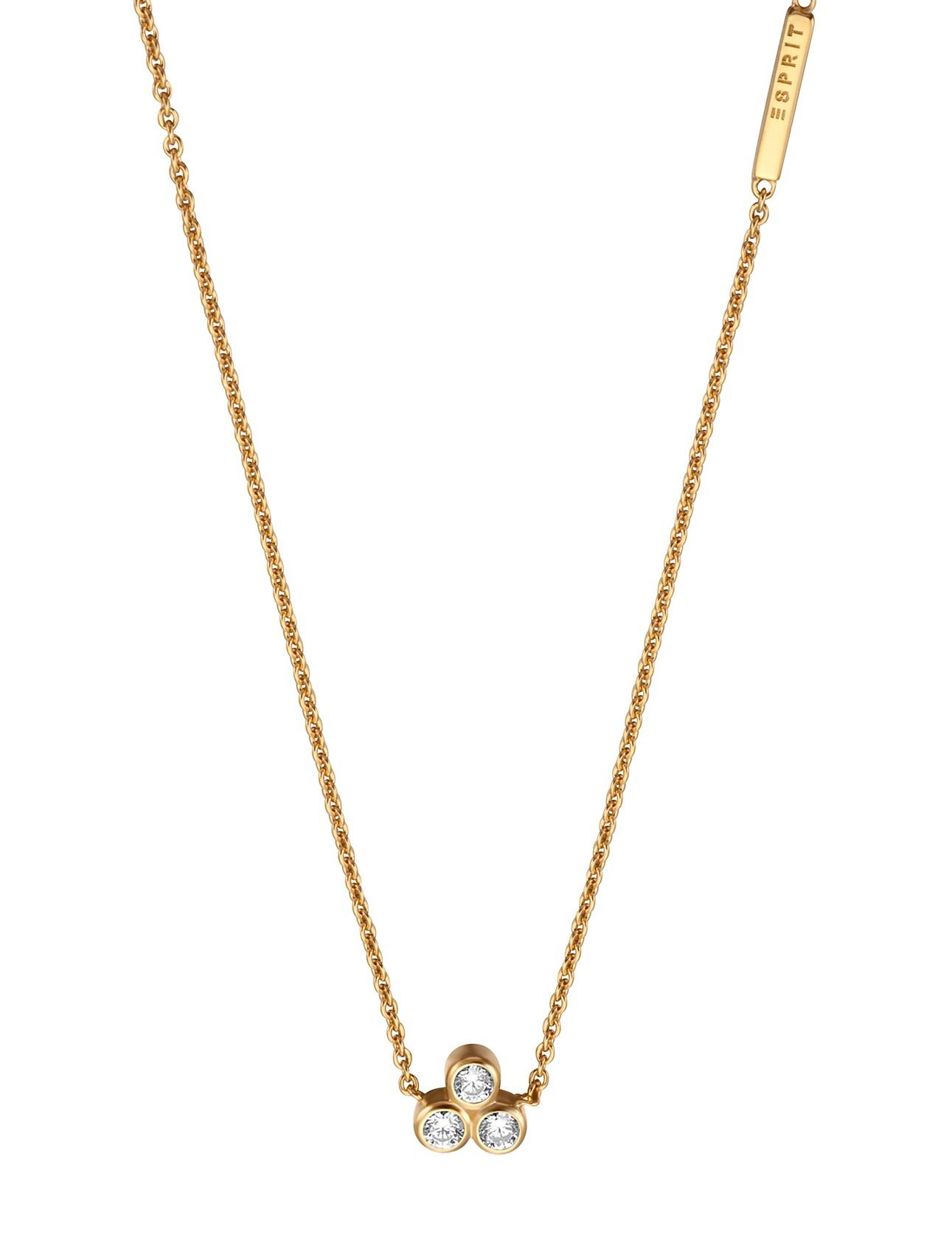 Esprit Ketting Play zilver goudkleurig 42-45 cm ESNL00191242