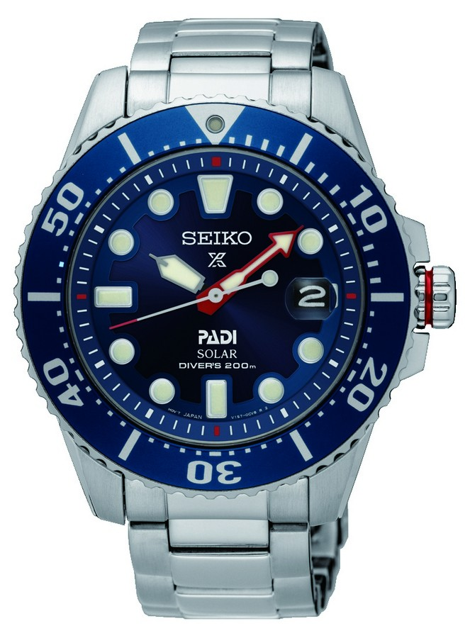 Seiko Herenhorloge Prospex Padi Special Editon Solar Diver SNE435P1