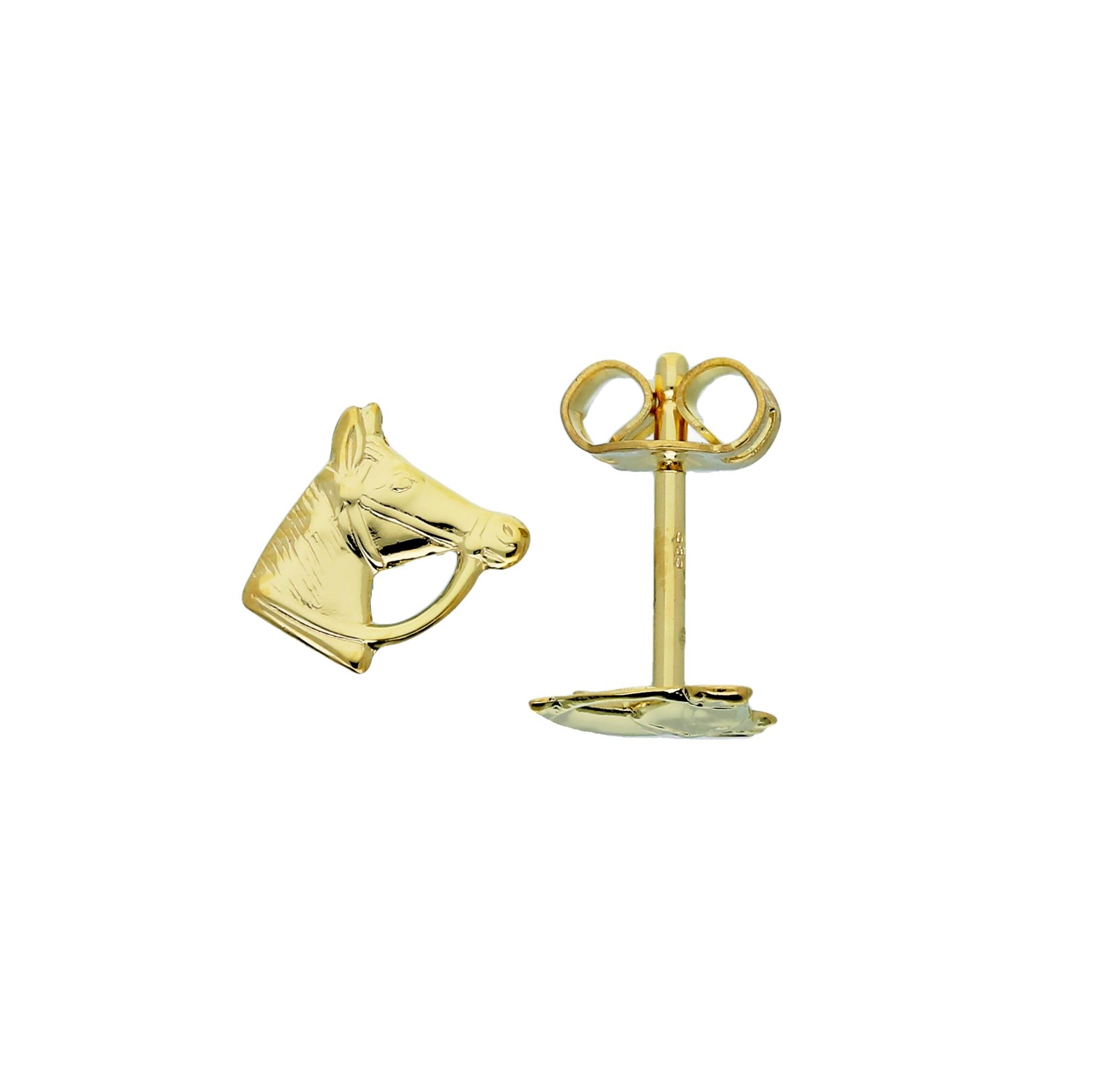 Glow Gouden Kinderoorknopjes - Paardenhoofd  206.0487.00