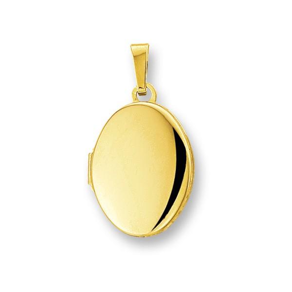 Huiscollectie 4005731 Gouden medaillon ovaal