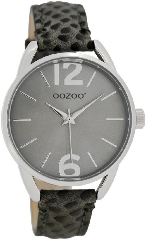 OOZOO JR284 Horloge Junior 38 mm donkergrijs