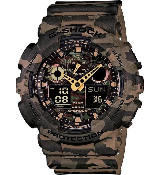 Casio G-Shock Chronograaf GA-100CM-5AER