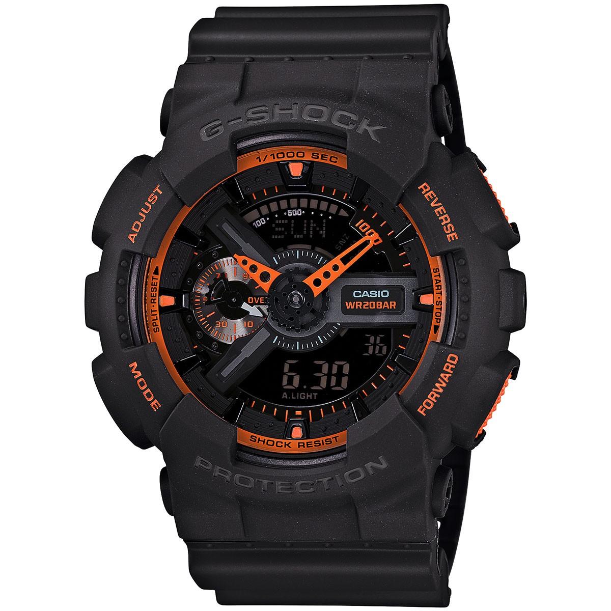 Casio G-Shock Chronograaf Gemiddelde snelheid GA-110TS-1A4ER