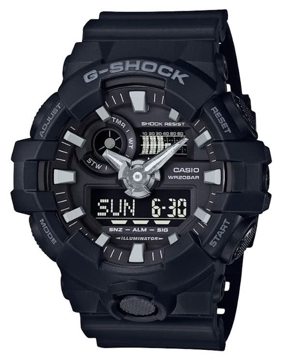 Casio G-Shock Analoog Digitaal Zwart GA-700UC-8AER