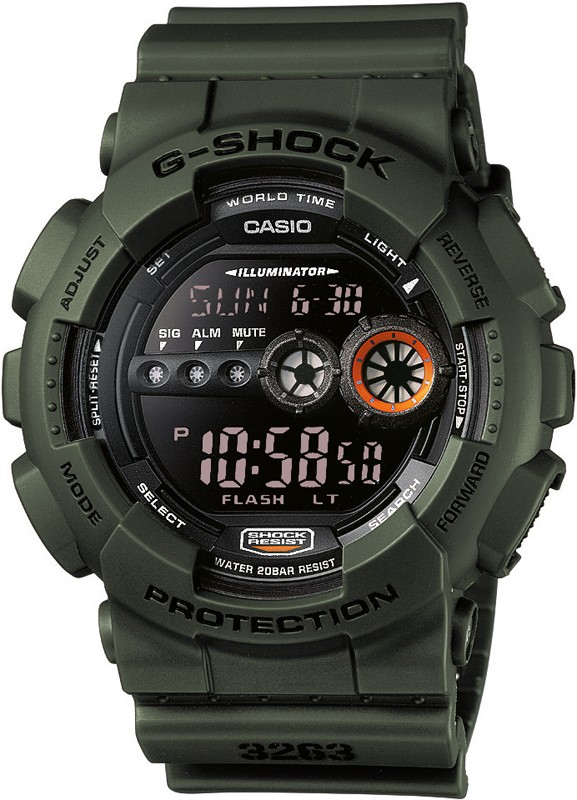 Casio G-Shock Military Stealth Displayflitser GD-100MS-3ER