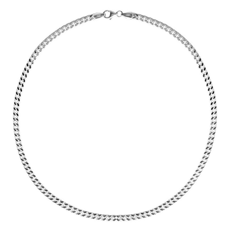 FirstChoice GOU55 Ketting zilver Gourmet 5,5 mm 54,0 gram 60 cm