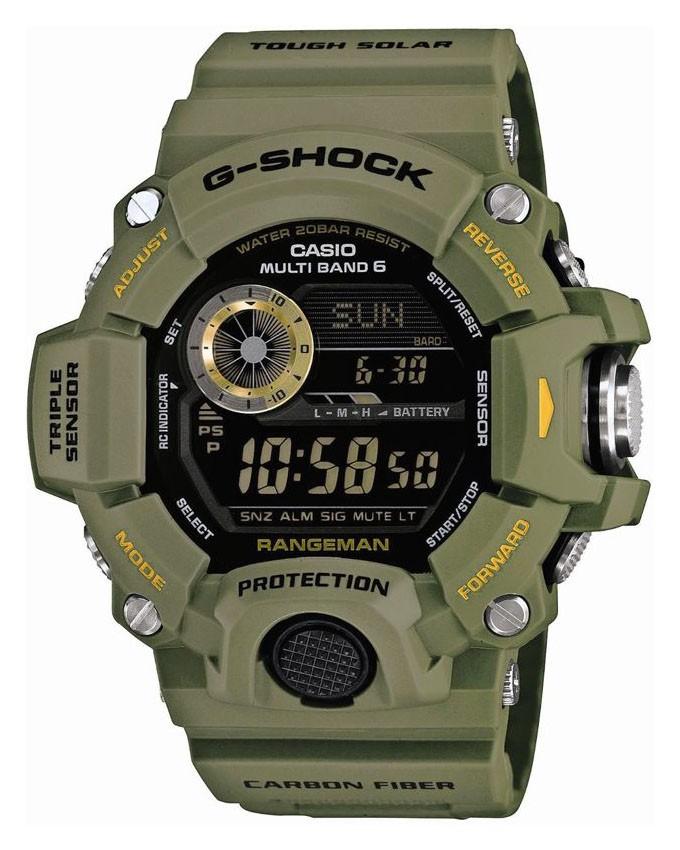 Caso G-Shock Rangeman GW-9400-3ER