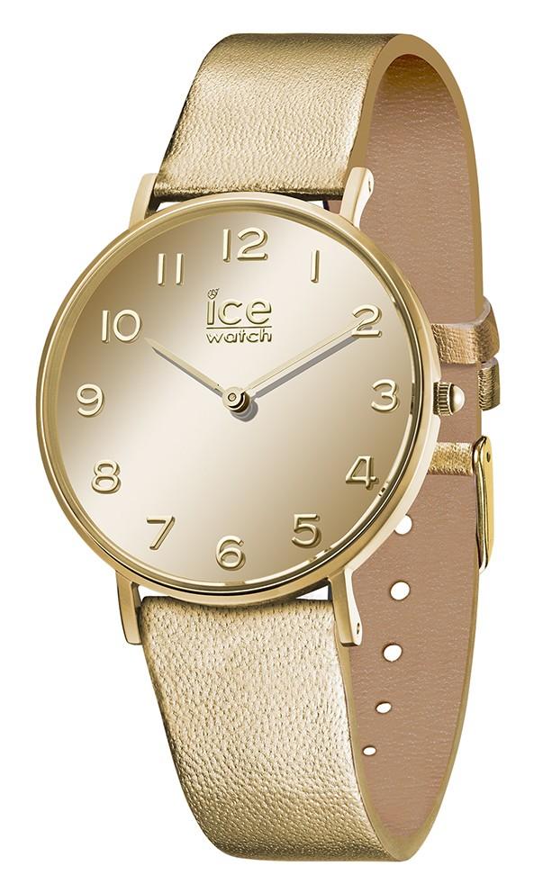 Ice-Watch horloge City Mirror Gold Small IW14434