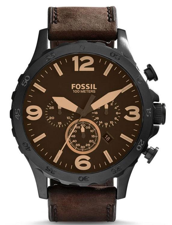 Fossil Herenhorloge Nate Chronograaf JR1487
