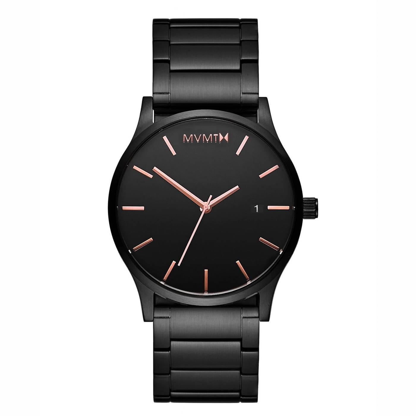 MVMT D-MM01-BBRG Horloge Classic Black Rose 45 mm