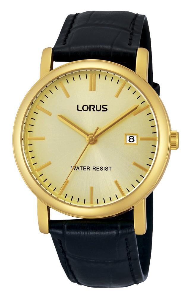 Lorus Herenhorloge Goudkleurig-Leder RG838CX9