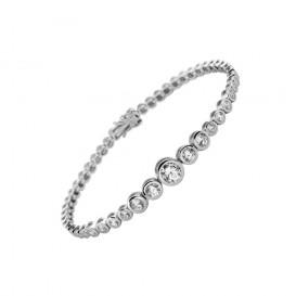 Diamonfire Tennisarmband zilver 20 cm 804.0060.20