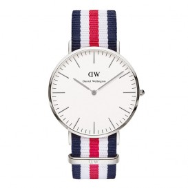 Daniel Wellington Horloge Classic Canterbury silver 40 mm DW00100016