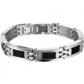 TFT Armband Staal Rubber 11,5 mm 21,5 cm