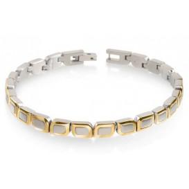 Boccia Armband Titanium bicolor 03009-02
