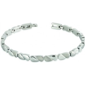 Boccia 03016-01 Armband Titanium zilverkleurig 20 cm