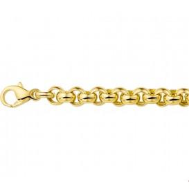 Armband Goud Jasseron 6,3 mm 19 cm