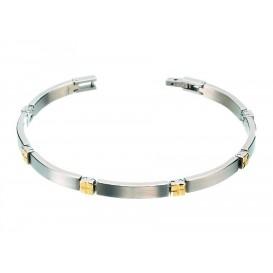 Boccia Armband Titanium bicolor 0329-04