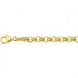 Armband Goud Jasseron 4,8 mm 18 cm