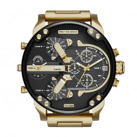 Diesel DZ7333 Mr.Daddy 2.0 Black Gold horloge