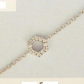 TFT Armband Witgoud Diamant 0.03ct H SI 15 - 16,5 - 18 cm