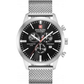Swiss Military Hanowa 06-3308.04.007 Horloge 44 mm met meshband