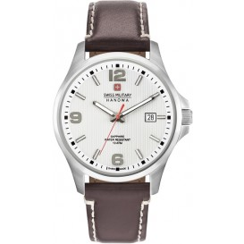 Swiss Military Hanowa Observer met saffierglas 06-4277.04.001 Horloge