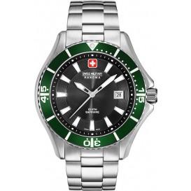 Swiss Military Hanowa 06-5296.04.007.06 Horloge Nautila saffierglas 44 mm
