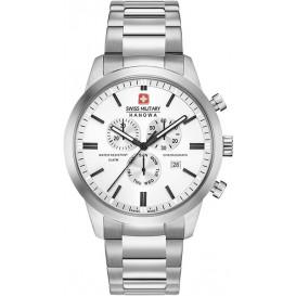 Swiss Military Hanowa Chrono en saffierglas Classic 06-5308.04.001 Horloge