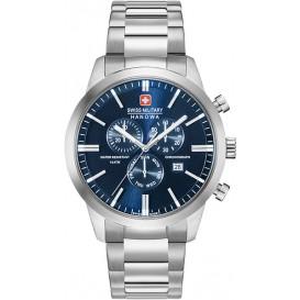Swiss Military Hanowa Chrono Classic saffierglas 06-5308.04.003 Horloge