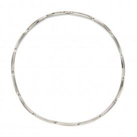 Boccia Ketting Titanium zilverkleurig 45 cm 08018-01
