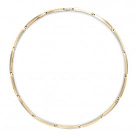 Boccia Ketting Titanium bicolor 45 cm 08018-02