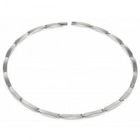 Boccia 08028-01 Ketting titanium zilverkleurig 49 cm