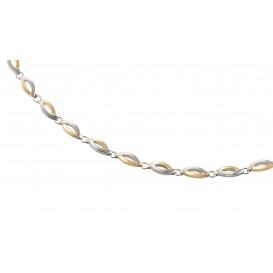 Boccia 0876-02 Collier Titanium Zilverkleurig 47 cm 1