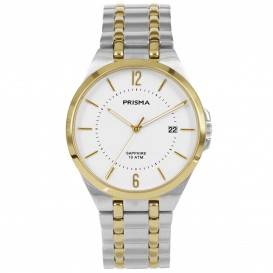 Prisma Horloge P.1267 Heren Titanium Solid Saffier 10 ATM P.1267 Herenhorloge 1
