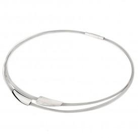 YO DESIGN T0961 Ketting Orion zilver-staal zilverkleurig 45 cm