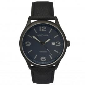 Sekonda horloge SEK.1369 Heren Zwart Canvas SEK.1369 Herenhorloge 1