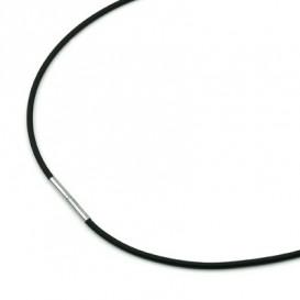Boccia 0801-01 Dames rubber collier