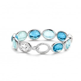 Ti Sento - Milano 2857WB zilveren armband
