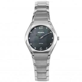 Prisma dames P.1674 horloge titanium saffierglas 5 ATM P.1674 Dameshorloge 1