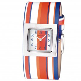 Coolwatch Stripes Orange/Blue CW.241 Kinderhorloge