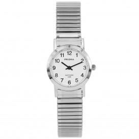 Prisma horloge 1815 Dames Rekband Edelstaal Saffierglas P.1815 Dameshorloge 1