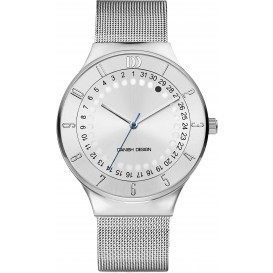 Danish Design Watch Date 360 Iq62q1050 Stainless Steel. Horloge