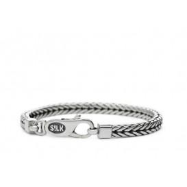 Silk Jewellery Armband zilver 'Shiva' 21 cm 334.21