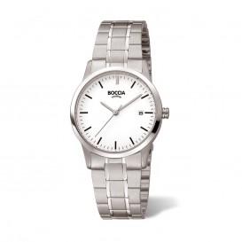 Boccia 3258-02 Horloge Titanium zilverkleurig
