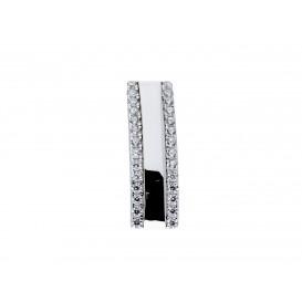 Elegance zilveren Hanger Zirkonia glanzend Gerodineerd 120.5626.00 (Hanger)