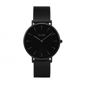 CLUSE CL18111 LA Bohème Mesh Full Black horloge