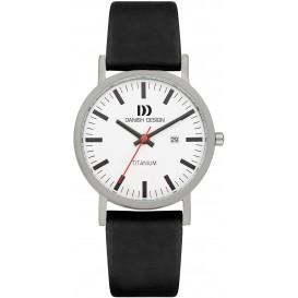 Danish Design IQ12Q1273 Horloge Rhine Titanium 39 mm