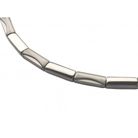 Boccia 08012-01 Dames titanium collier
